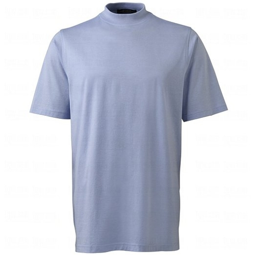 Microstripe Jersey Short Sleeve Shirt by Carnoustie Sportswear in Love & Mercy