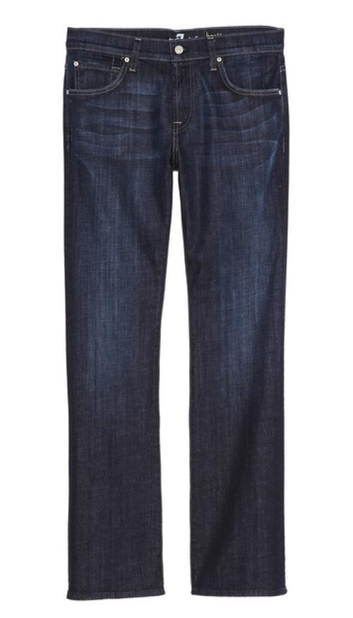 Brett Stretch Boot Cut Jeans by 7 For All Mankind in Yves Saint Laurent