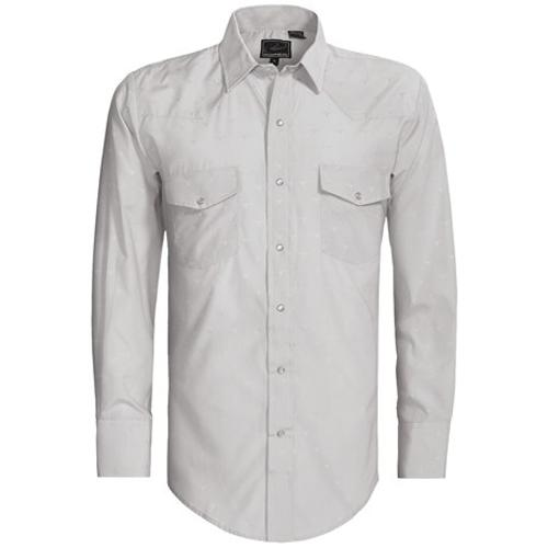 Karman Shirt - Dobby, Long Sleeve by Roper in Million Dollar Arm