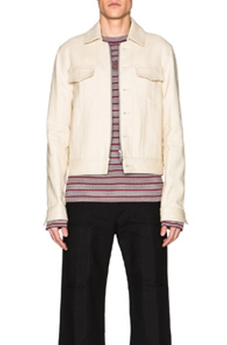 Heavy Twill Zip Jacket by Maison Margiela in The Man from U.N.C.L.E.