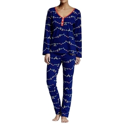 Holiday Henley Lounge Set by BedHead Pajamas in Pitch Perfect 3