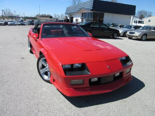 1991 Camaro Z28 Convertible by Chevrolet in Hell or High Water