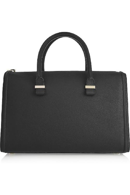 The Victoria Mini matte-leather tote by VICTORIA BECKHAM in Blended