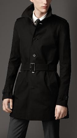 MID-LENGTH COTTON GABARDINE TRENCH COAT by Burberry in Vampire Academy