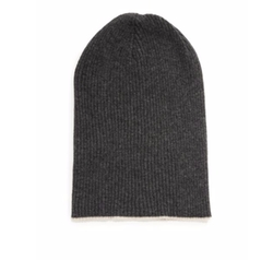 Contrast Cuff Cashmere Beanie by Brunello Cucinelli in Lethal Weapon
