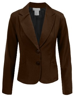 Women's Classic Office Blazer by NE People in McFarland, USA