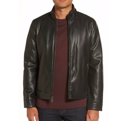 Faux Leather Jacket by Cole Haan in Maze Runner: The Death Cure