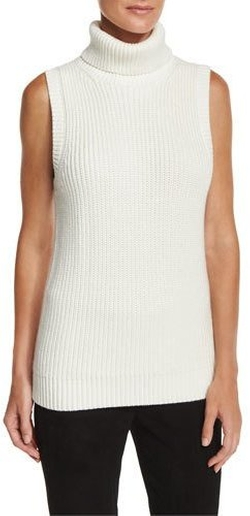 Sleeveless Turtleneck by Michael Kors in The Boss