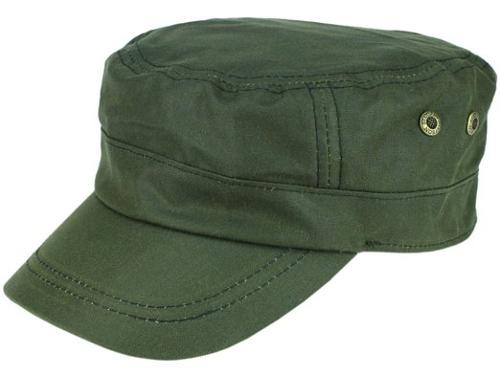 Austin Waxed Cotton Military Cap by Stetson in The Expendables 3