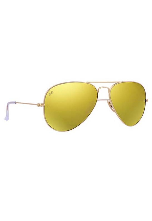 Aviator Flash Lenses Sunglasses by Ray-Ban in Mr. & Mrs. Smith