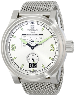 Aviator Swiss Quartz Silver Watch by Zodiac in The Transporter: Refueled