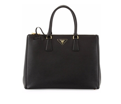 Saffiano Medium Executive Tote Bag by Prada in Scandal