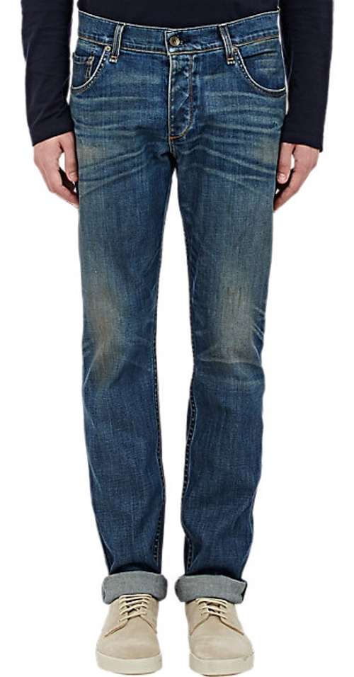 Stretch Cotton Denim Jeans by Rag & Bone in Ex Machina