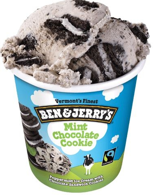 Mint Chocolate Cookie Ice Cream by Ben & Jerry's in Sleeping with Other People