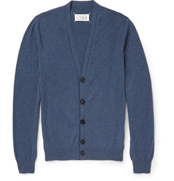 Cotton And Wool-Blend Cardigan by Maison Margiela in We Are Your Friends
