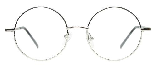 Full Rim Metal Round Eyeglasses Frame by Tinetto in Unbroken