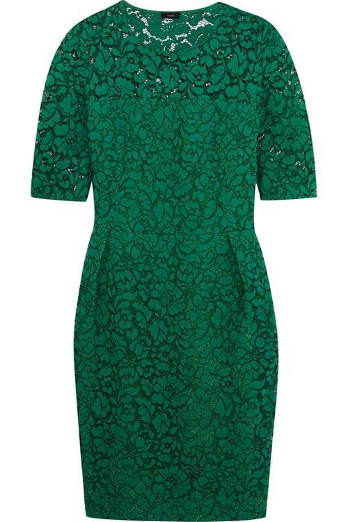 Dilys Cotton-Blend Macramé Lace Dress by Joseph in The Good Wife - Season 7 Episode 6