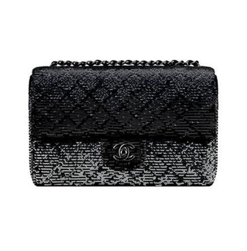 Embroidered Sequins Flap Bag by Chanel in Keeping Up With The Kardashians - Season 12 Episode 9