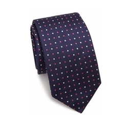 Pin Dot Silk Tie by Eton in How To Get Away With Murder