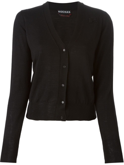 Fine Knit Cardigan by Rochas in Suits