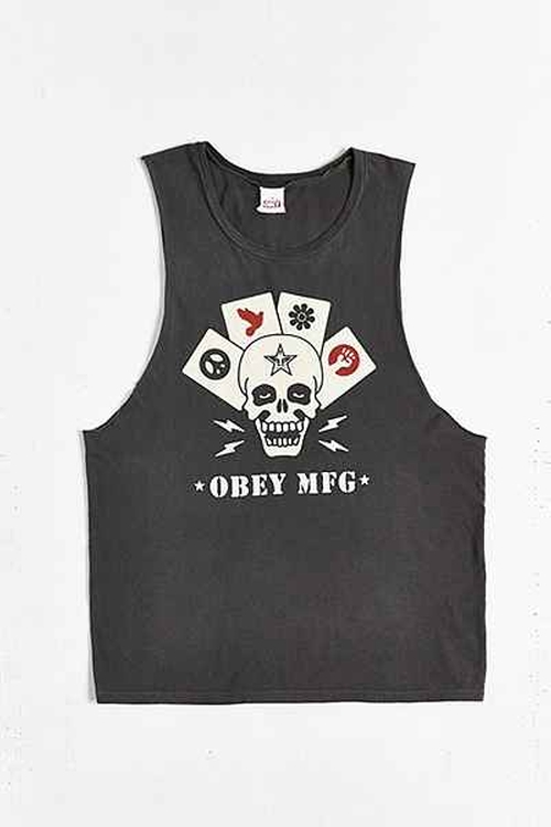 Obey On Deck Muscle T-shirt by Urban Outfitters in Magic Mike XXL