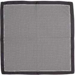 Houndstooth-Print Silk Pocket Square by Barneys New York in Suits