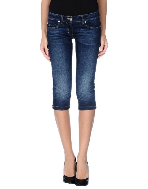 Cropped Denim Pants by Elisabetta Franchi for Celyn B. in While We're Young