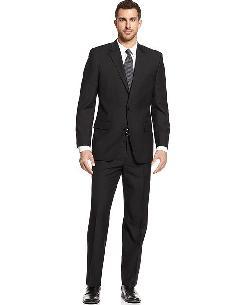 Black Solid Suit by Alfani in Million Dollar Arm