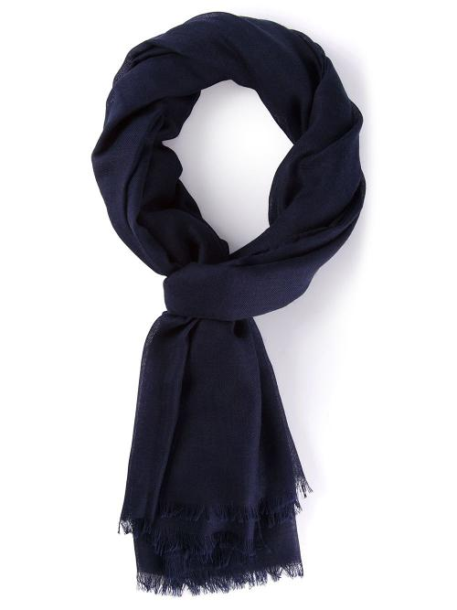 Fringed scarf by Lanvin in A Walk Among The Tombstones