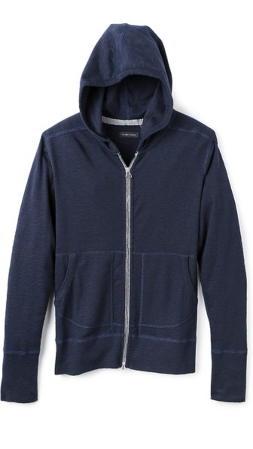 Base Full Zip Hoodie by Wings + Horns in Ex Machina