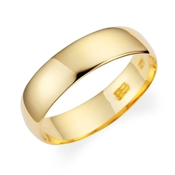 Plain Light Weight Wedding Band Ring by Lovearing in She's Funny That Way