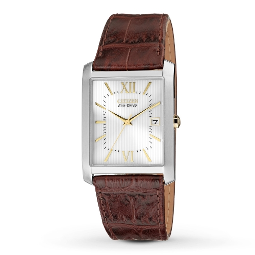 Eco-Drive Leather Strap Watch by Citizen in The Longest Ride