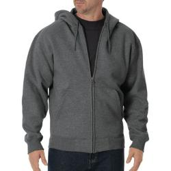 Heavyweight Fleece Full Zip Hoodie by Dickies in Sabotage