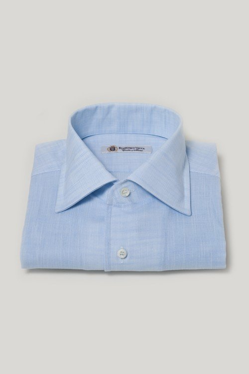 Linen Dress Shirt by Domenico Vacca in Entourage