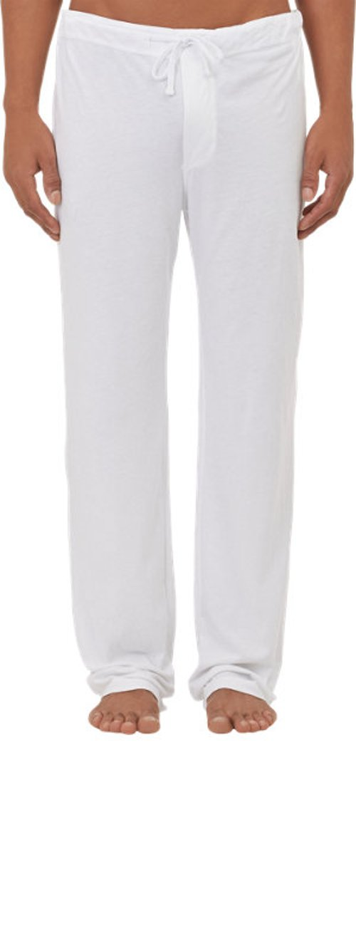 Drawstring-Waist Pajama Pants by James Perse in Birdman