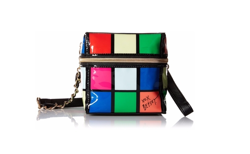 Rubix Cube Cross Body Bag by Betsey Johnson in Fuller House - Season 1 Episode 5