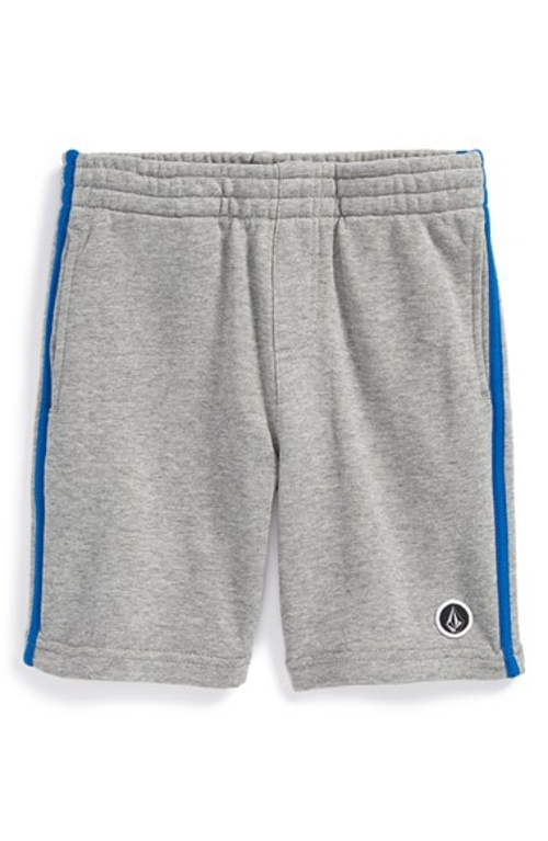 'Crosby' Cotton Jersey Knit Shorts by Volcom in Cut Bank