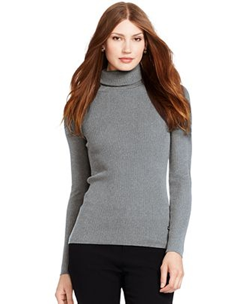 Ribbed Turtleneck Sweater by Lauren Ralph Lauren in The Boy