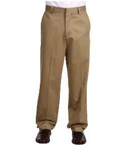Men's Signature Khaki Relaxed Fit Flat Front Pants by Docker's in Horrible Bosses 2