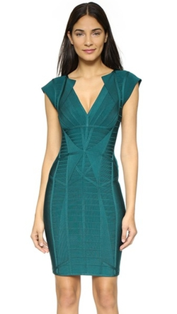 Penelope Bandage Dress by Herve Leger in Arrow