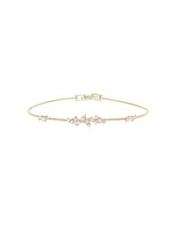 Confetti Diamond Wire Bracelet by Paul Morelli in Suits