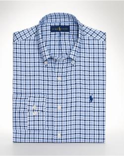 Checked Sport Shirt by Ralph Lauren in Trainwreck