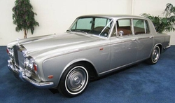 1969 Silver Shadow Sedan by Rolls Royce in Mortdecai