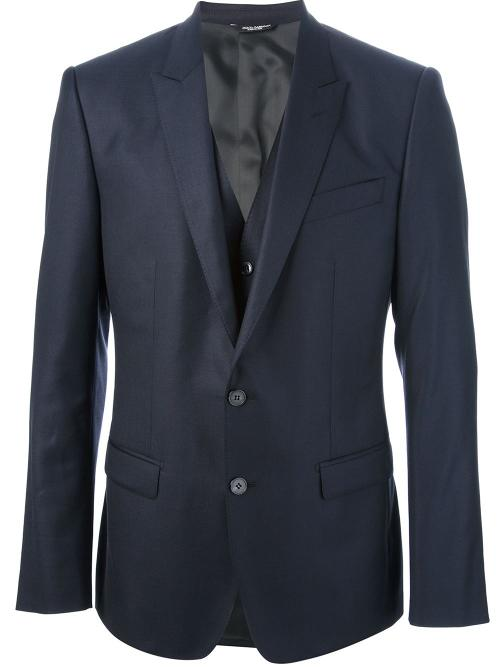 Three Piece Suit by Dolce & Gabbana in The Judge