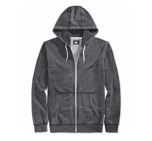 Zipper-Front Drawstring Hoodie by Quiksilver in Animal Kingdom - Season 1 Episode 10