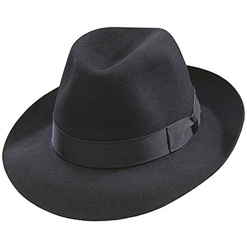 Classic Fedora Hat by Borsalino in The Blacklist - Season 3 Episode 23