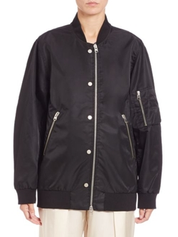 Oversized Bomber Jacket by Acne Studios in Keeping Up With The Kardashians