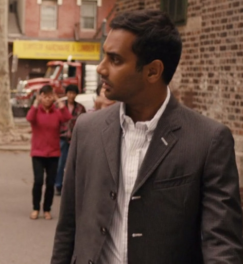 Three Button Blazer by Band Of Outsiders in Master of None - Season 1 Episode 6