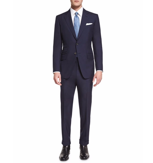O'Connor Base Plain-Weave Sharkskin Two-Piece Suit by Tom Ford in Suits - Season 6 Episode 16