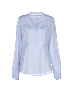Collarless Blouse by Pinko Tag in Suits